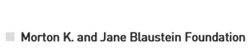 Morton K. and Jane Blaustein Foundation logo