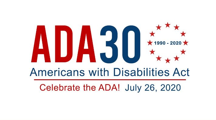 Happy 30th Anniversary to the Americans with Disabilities Act (ADA)!