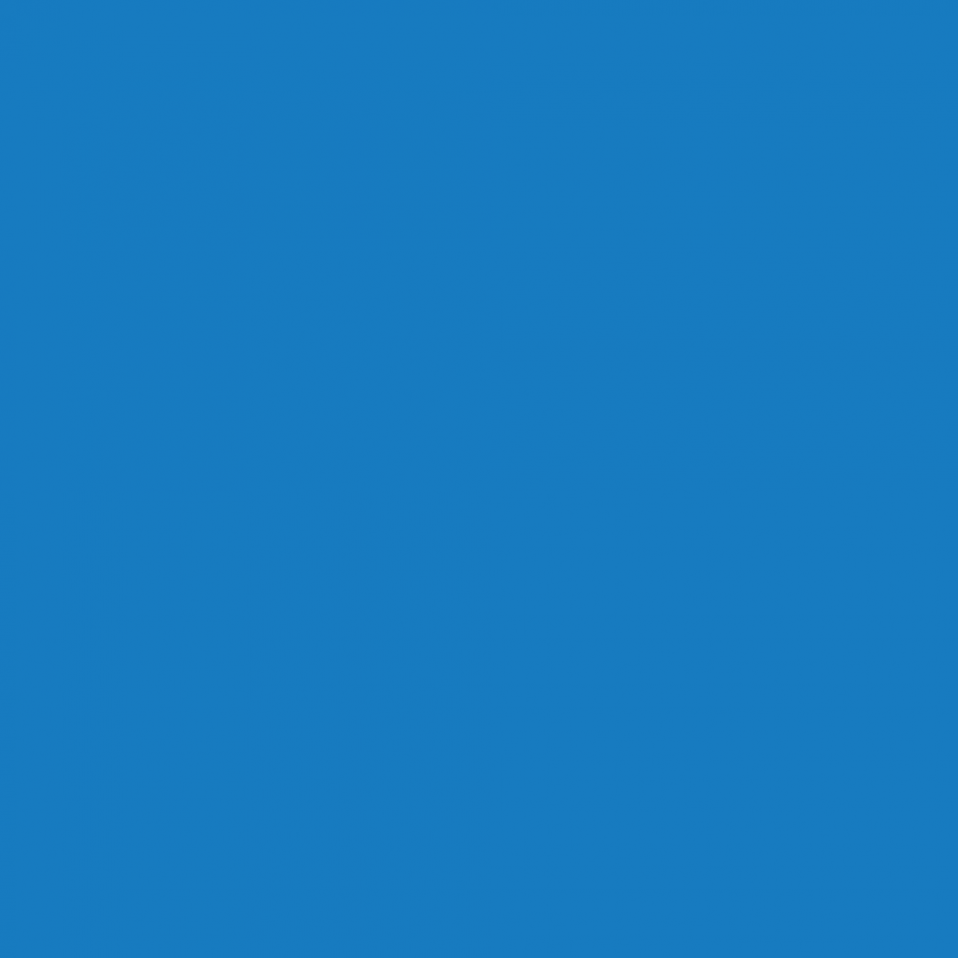 A solid, blue square.