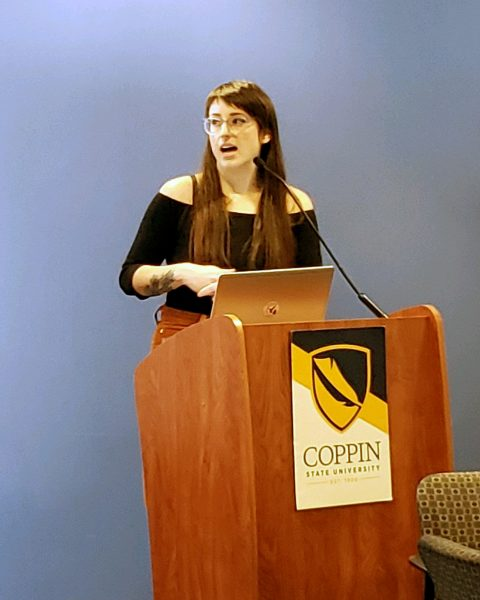 Chelsea Swift Speaks at Decriminalizing Disability