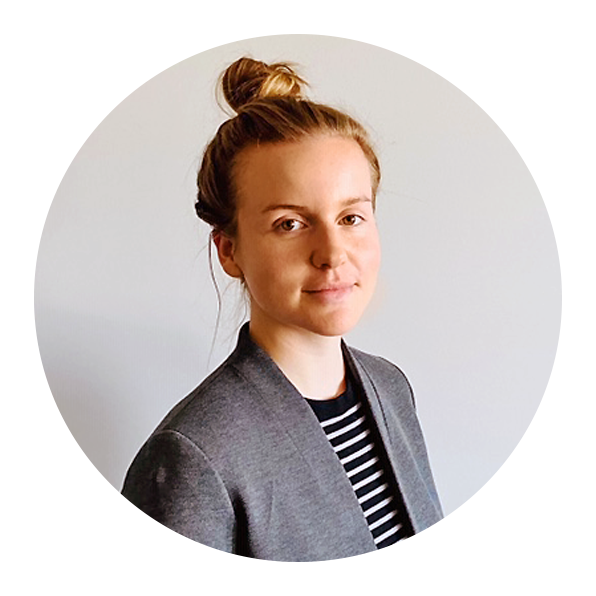 An avatar portrait of Emma Barbato, a legal intern for DRM's 2020 Summer Intern Program.