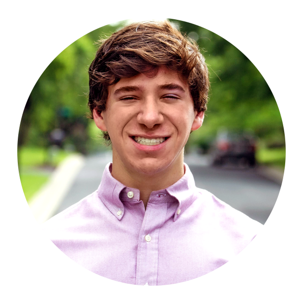 An avatar portrait of Jack Starobin, a communications intern for DRM's 2020 Summer Intern Program.